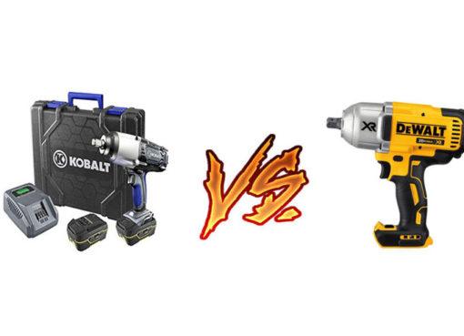 Kobalt 24v vs dewalt 20v