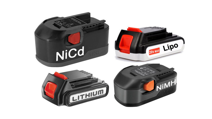 Power Tool Battery Types