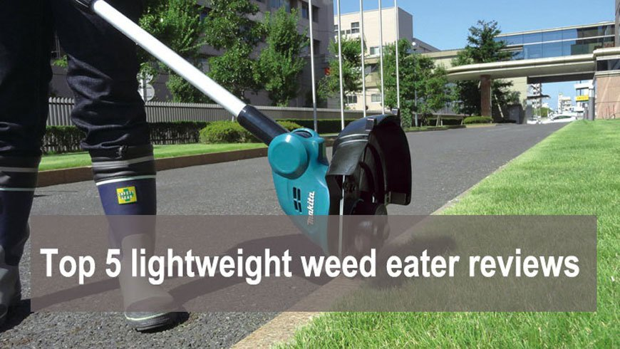 Top 5 Best Cordless Lightweight Weed Eater Reviews