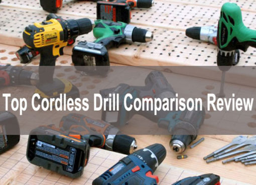 Top Cordless Drill comparison Review