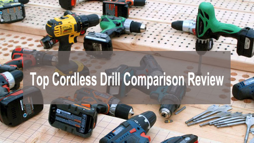 Top Cordless Drill comparison Review