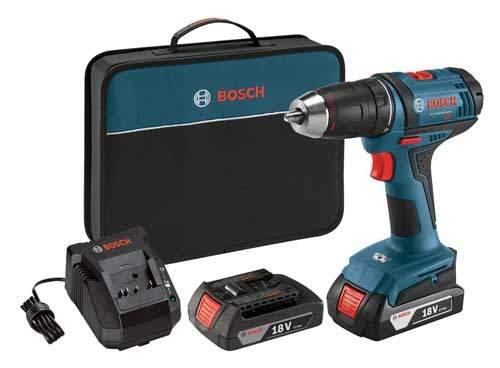 Bosch DDB181 02 Compact Tough Drill Driver Kit