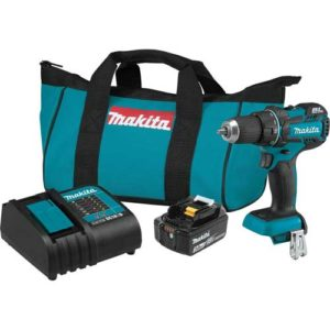 "Makita XFD061 18V Brushless Compact Cordless 1/2"" Driver"