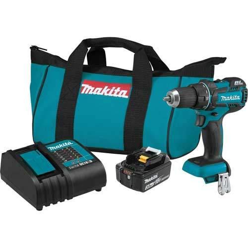 Makita XFD061 COMPACT Brushless Cordless Driver Drill Kit