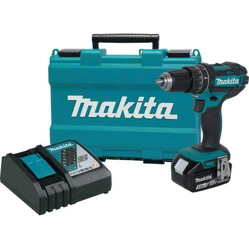 Makita XPH102 18V Cordless Drill Kit