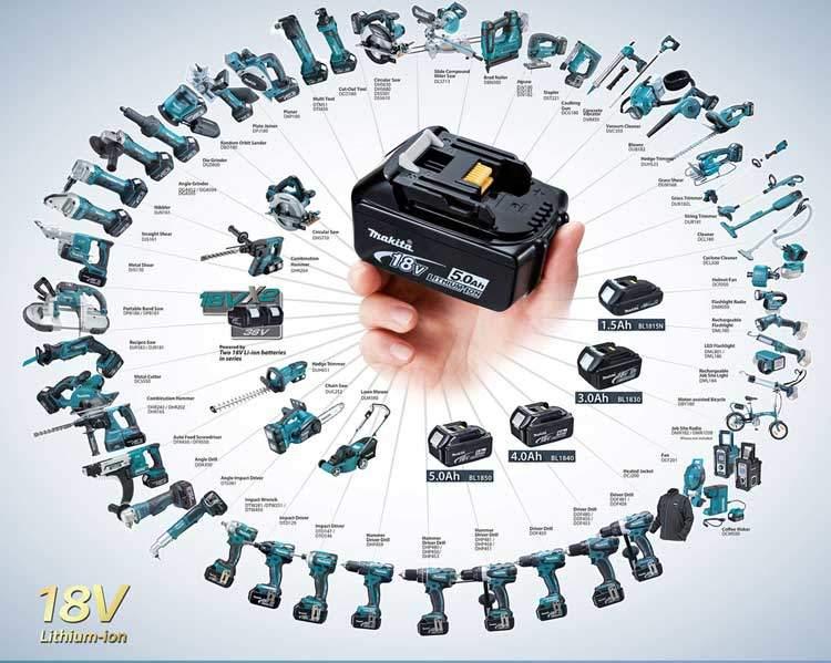 Makita battery compatibility