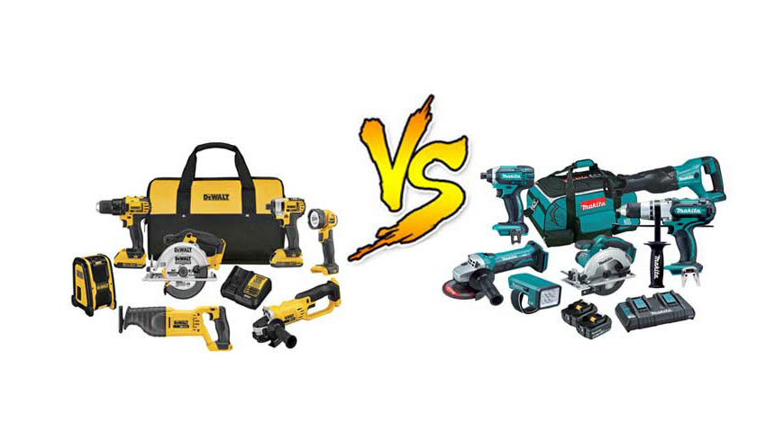Makita Vs Dewalt Impact Driver And Circular Saw Brushless Drill Planer