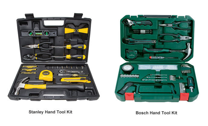 Stanley vs Bosch Hand Tool Kit