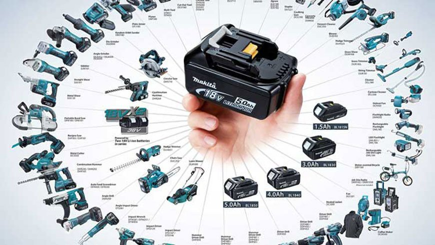 cordless tool battery interchangeable