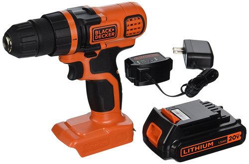 BLACK+DECKER LDX120C 20 Volt Cordless Drill