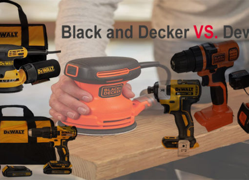 Black and Decker vs Dewalt