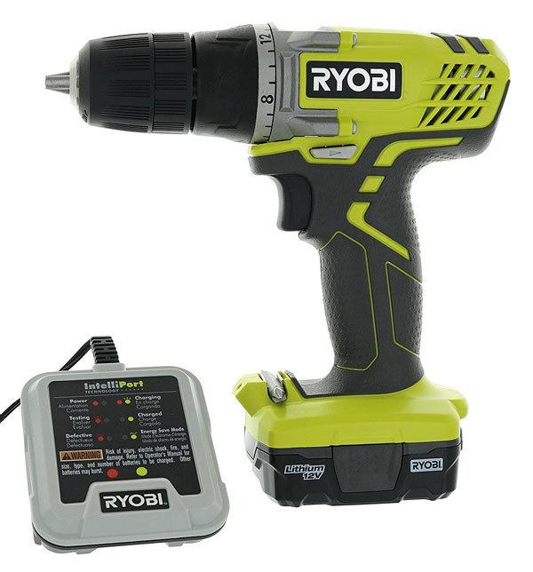 Ryobi HJP004L 12 Volt Drill Driver Kit
