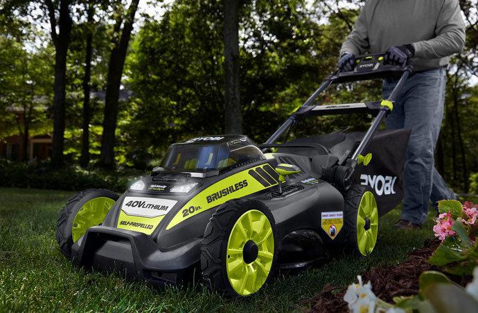 Ryobi RY40180 40V Cordless Electric Mower