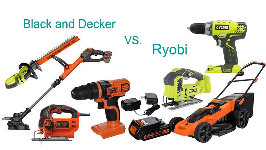 Ryobi vs Black and Decker